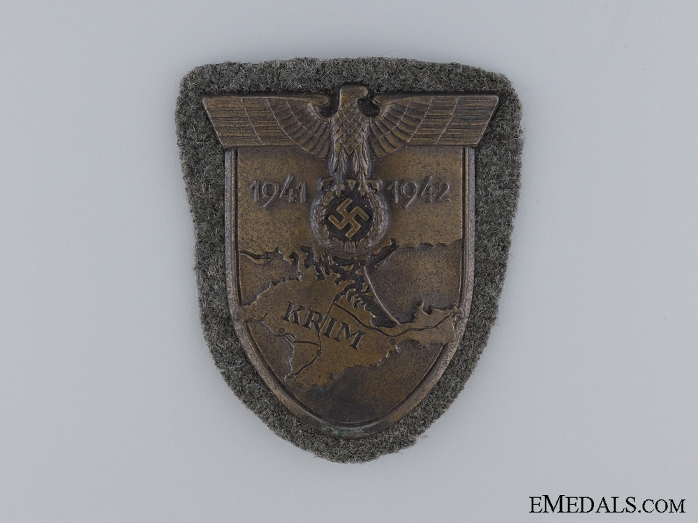 An Early Issue Krim Shield