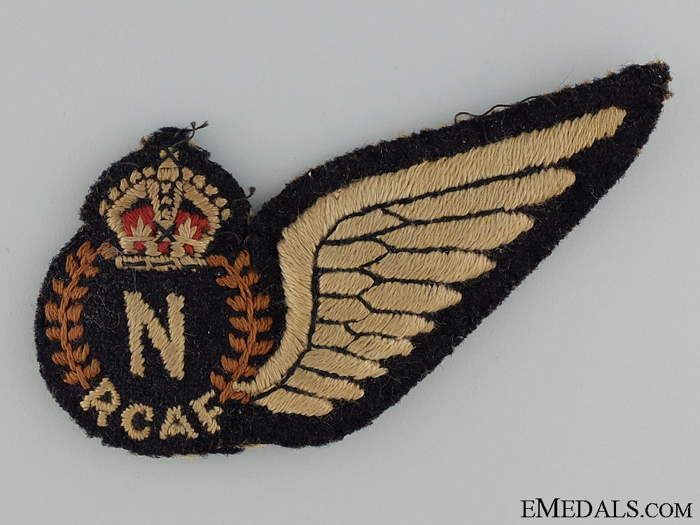 An Early Royal Canadian Air Force Navigator Wing
