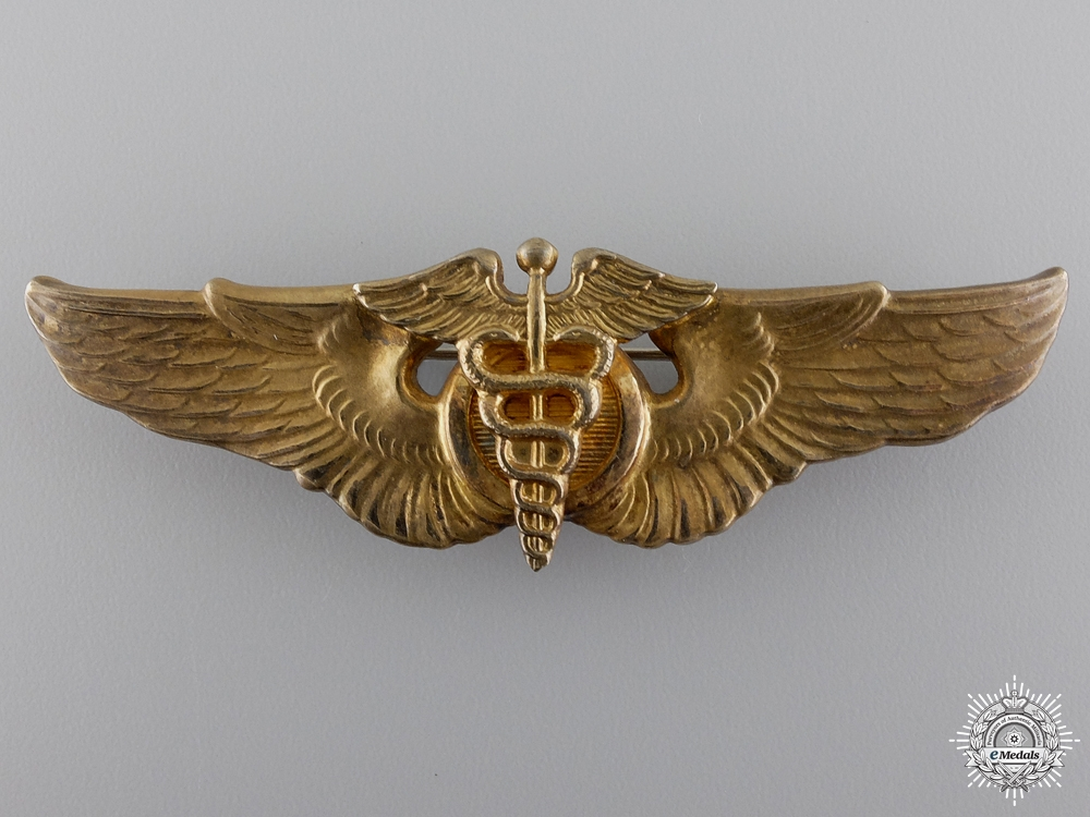 An Early Second War United States Air Force Flight Surgeon Wing