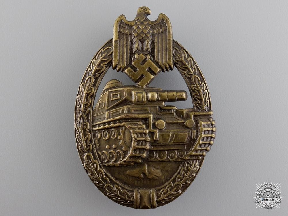 An Early Tank Assault Badge by  B.H. Mayer