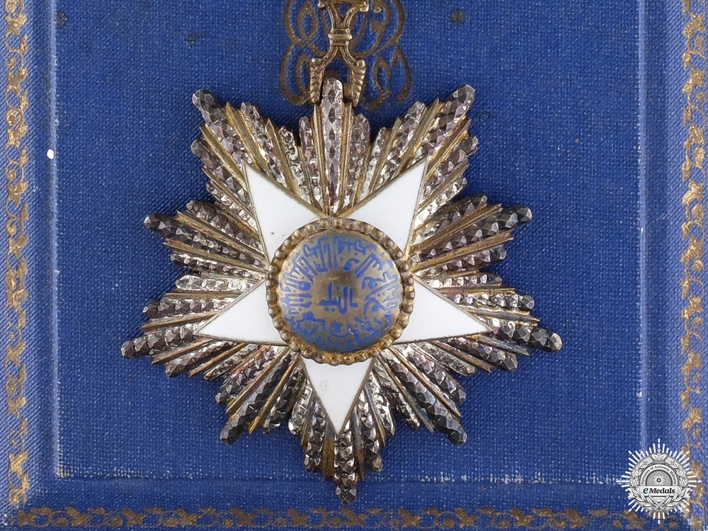 An Egyptian Order of the Nile; 4th Class by Lattes of Cairo
