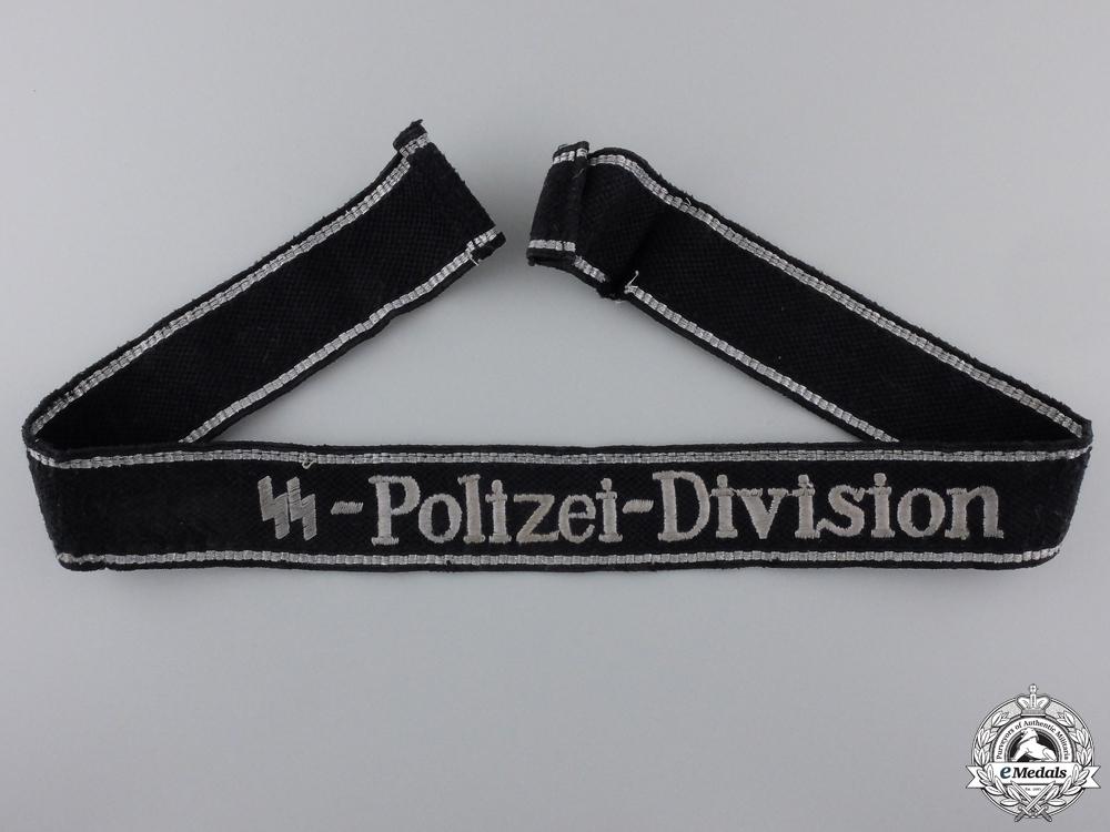 An EM/NCO SS-Polizei-Division Cufftitle