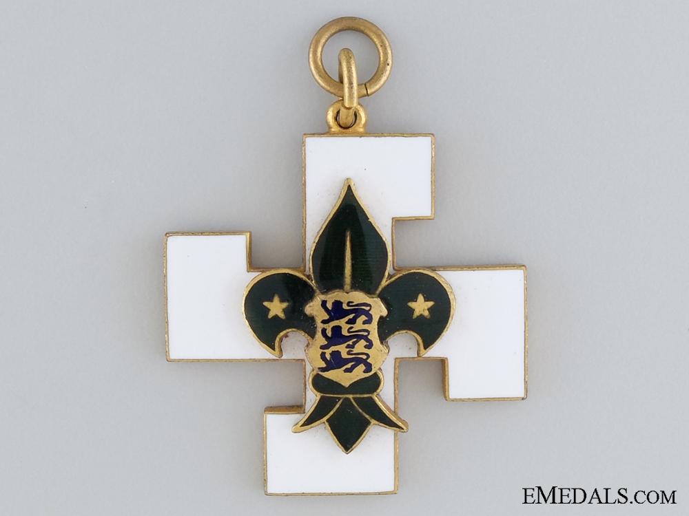 An Estonian 1930-40 Boy Scouts Merit Award
