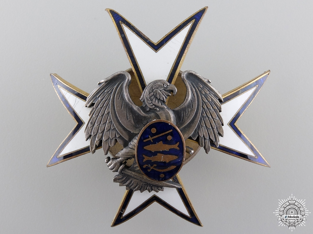 Estonia. A Kaitseliit Defence Force Badge, by Roman Tavast, c.1940