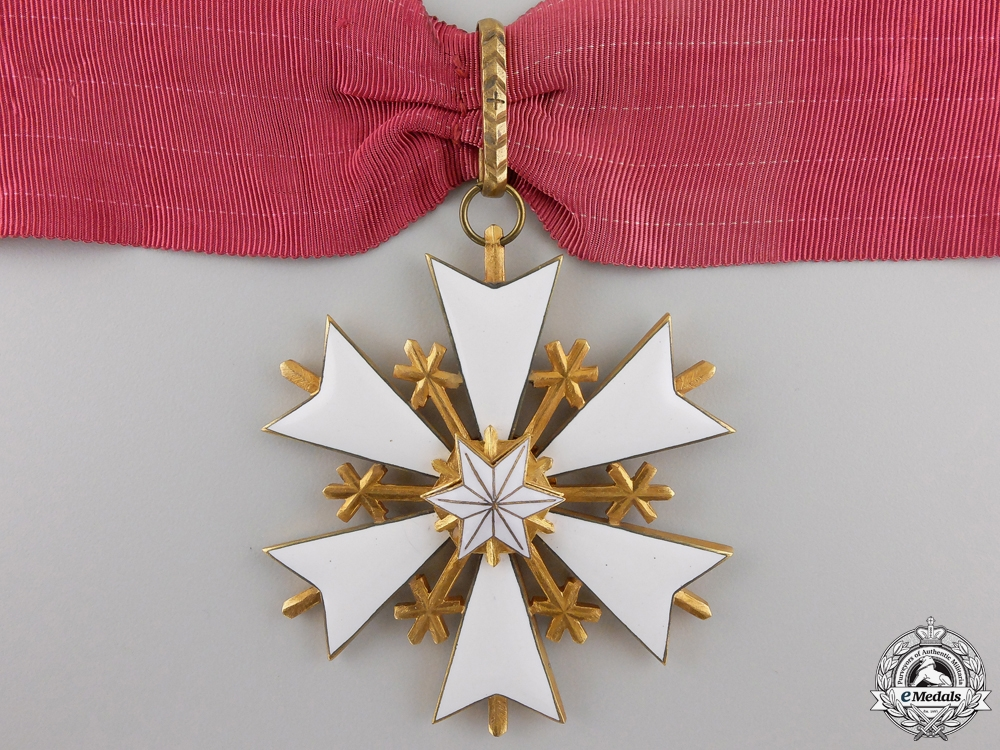 An Estonian Order of the White Star; Commander's