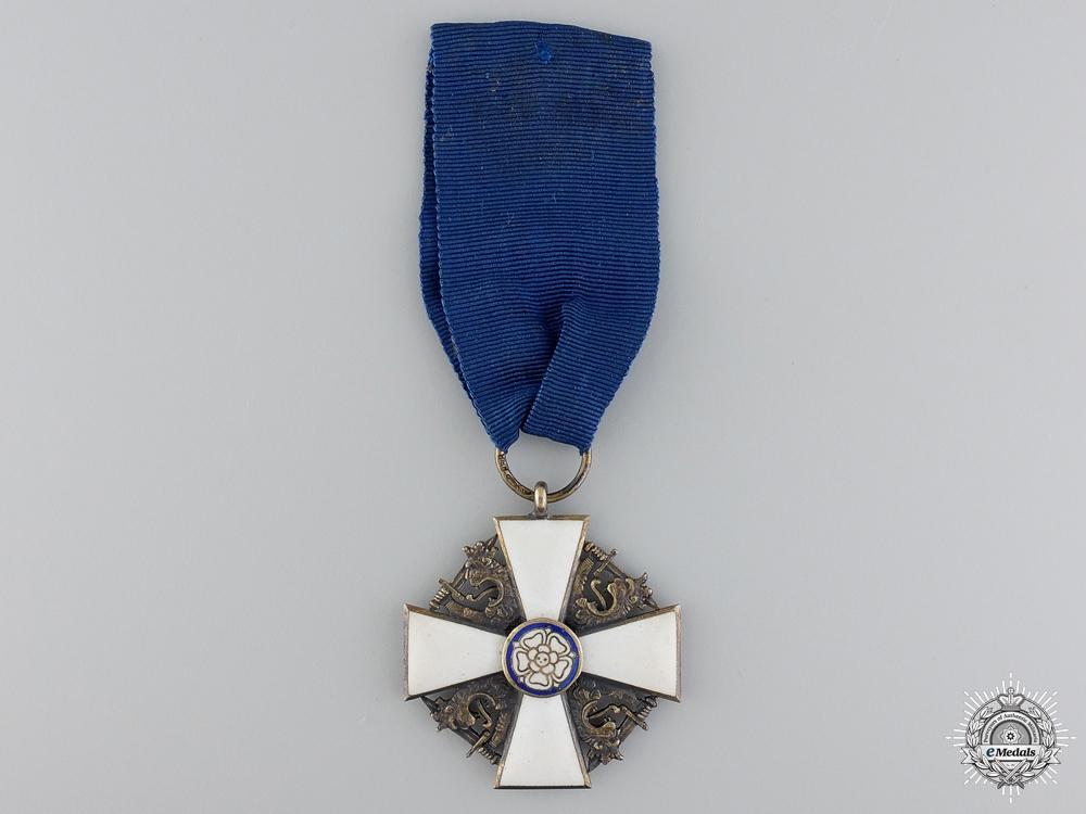 An Finnish Order of the White Rose; Officer's Cross