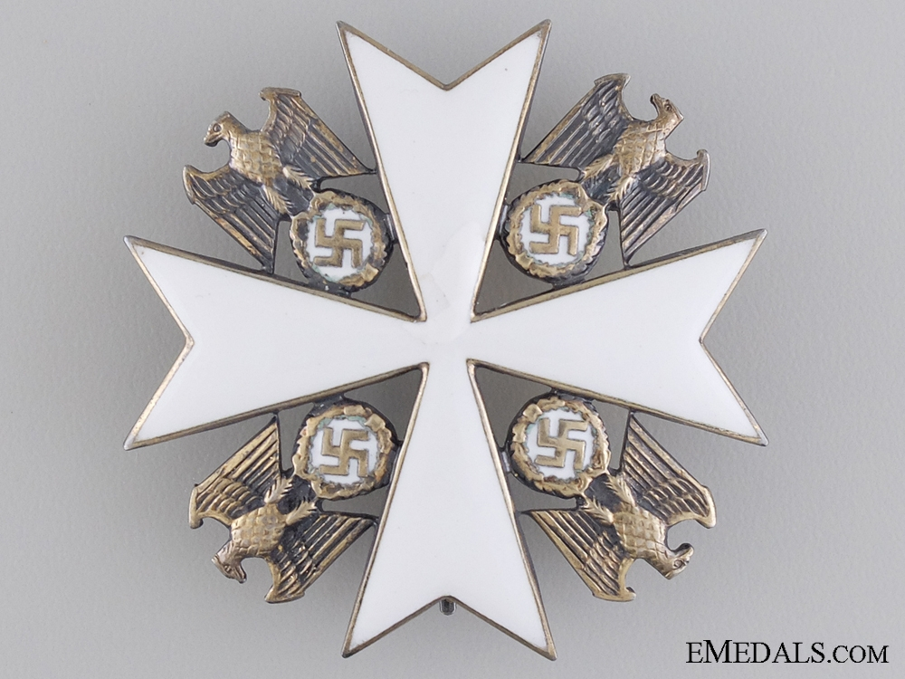 An German Eagle Order by Godet; Fourth Class