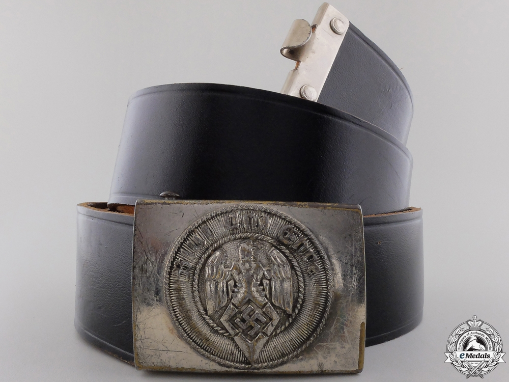 An HJ Members Belt & Buckle by Assmann