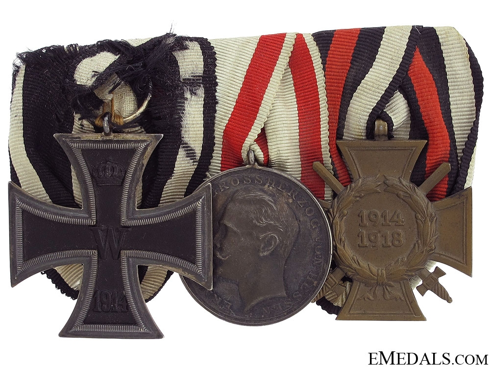 An Imperial Hessen Group of Three