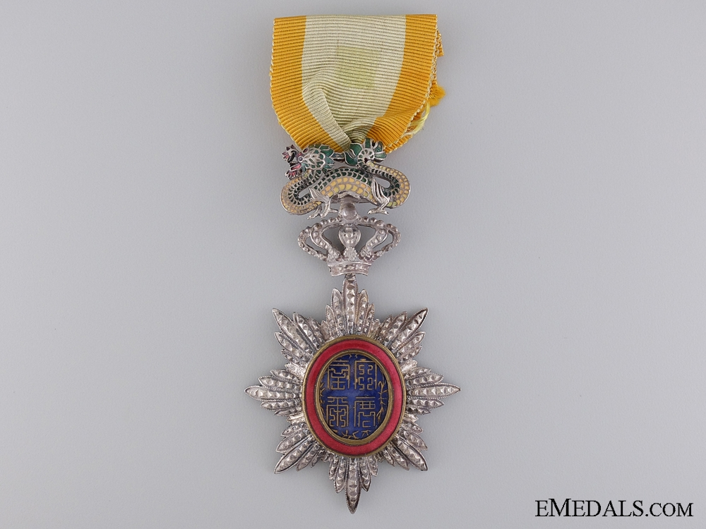 An Imperial Order of the Dragon of Annam