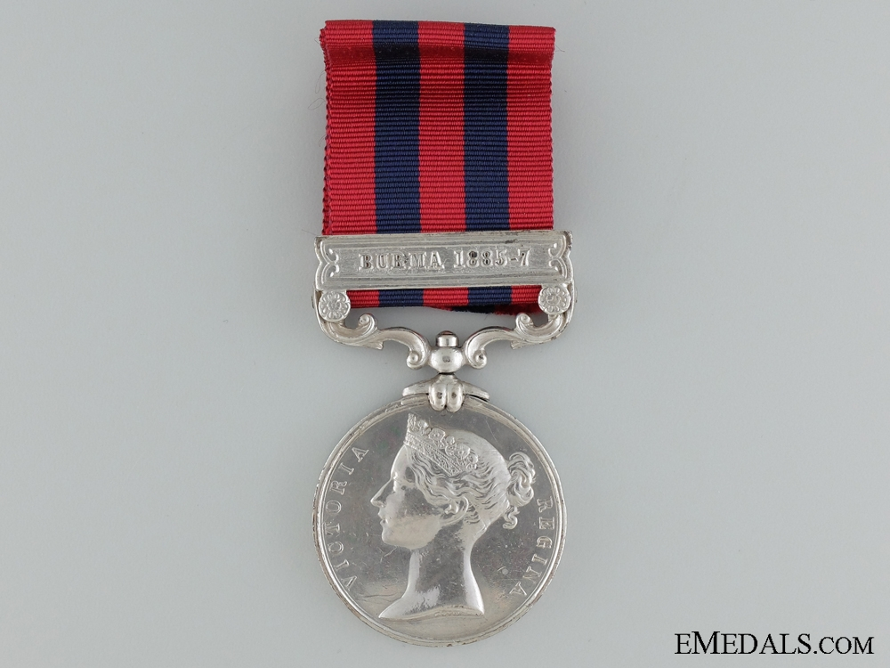 An India General Service Medal to the  Rifle Brigade