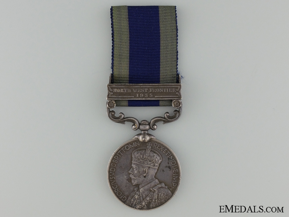 An India General Service Medal to the 4th Bombay Grenadiers