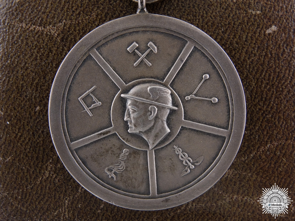 An Interwar German Industrial Award with Case