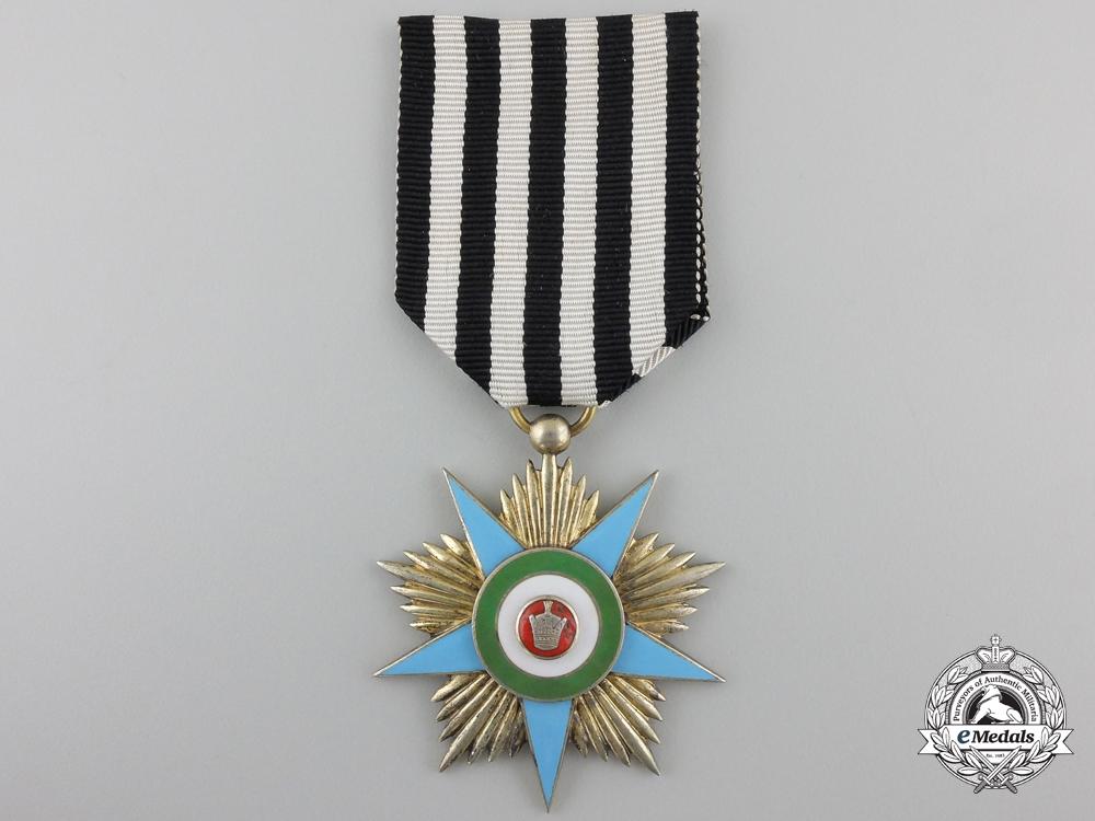 An Iranian Order of Glory (Nishan-I-Iftikhar); Silver Grade Star