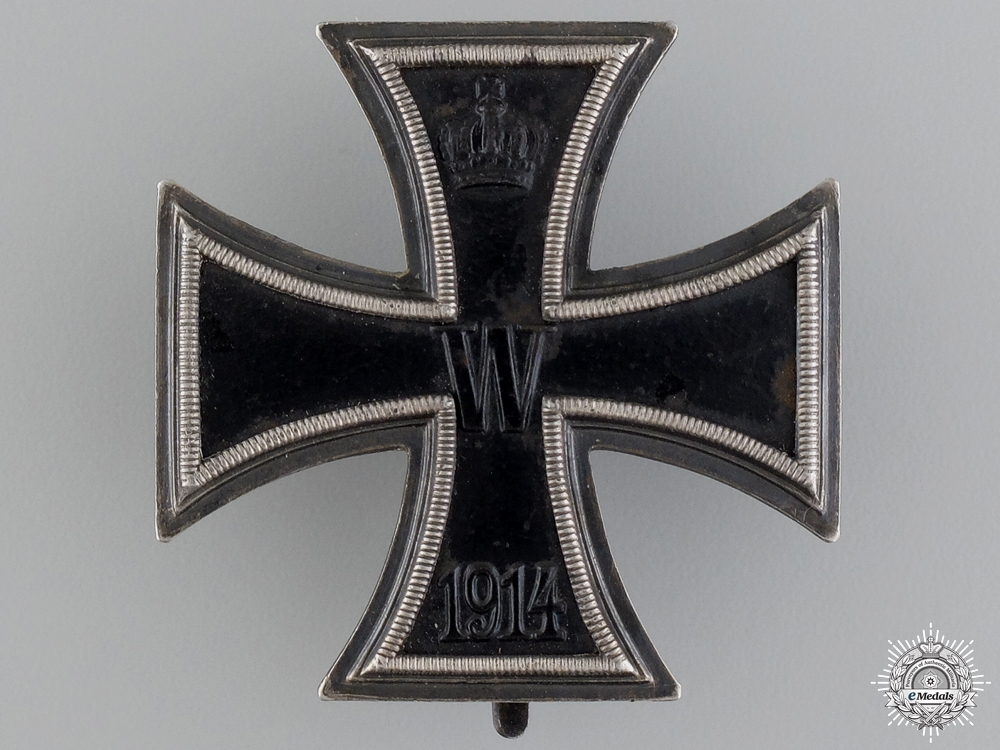 An Iron Cross 1st Class 1914 by Carl Dillenius