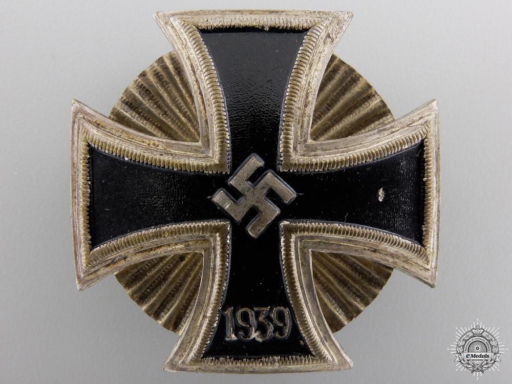 An Iron Cross 1st Class 1939; Schinkel Version by Wilhelm Deumer
