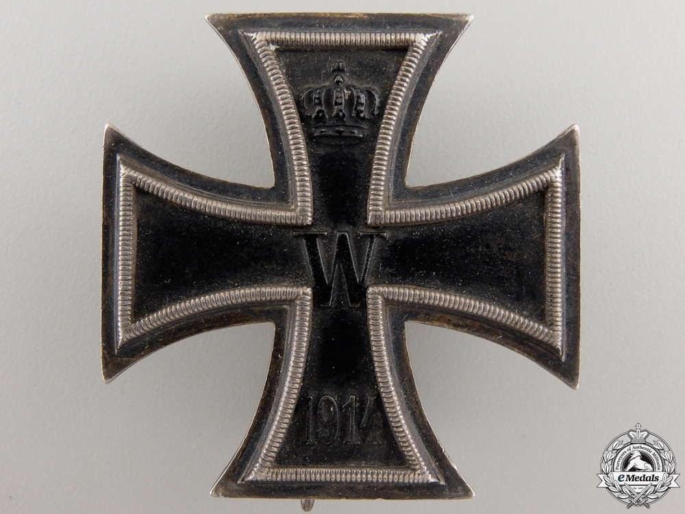 An Iron Cross 1st Class 1914 by Sy & Wagner