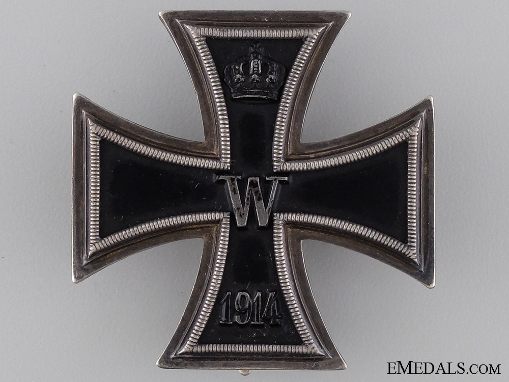 An Iron Cross First Class 1914 by Godet