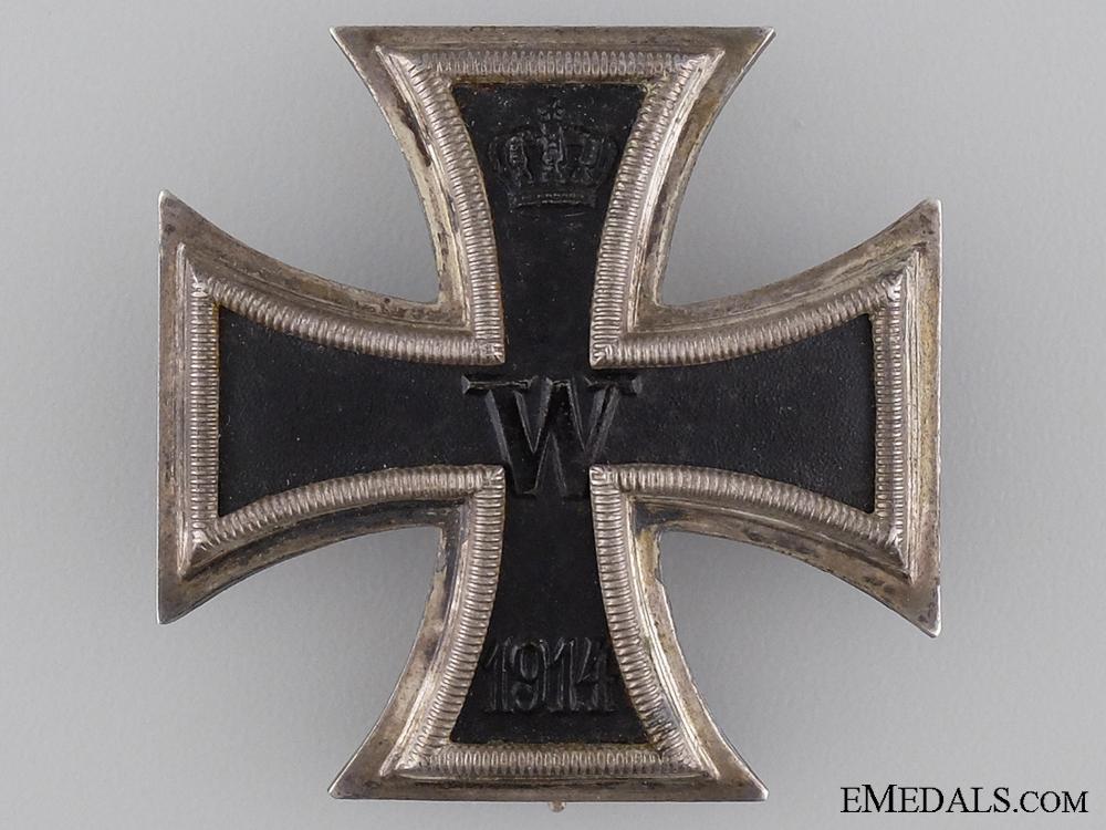 An Iron Cross First Class 1914 by FR. Sedlatzek