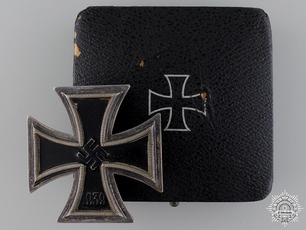 An Iron Cross First Class 1939 by Alois Rettenmaier