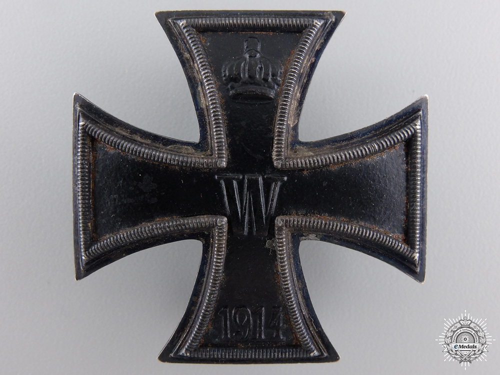 An Iron Cross First Class 1914; 800 Silver