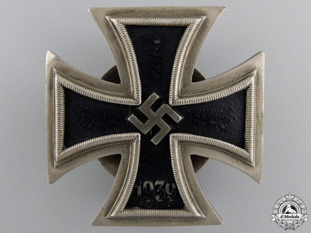 An Iron Cross First Class 1939 by Juncker