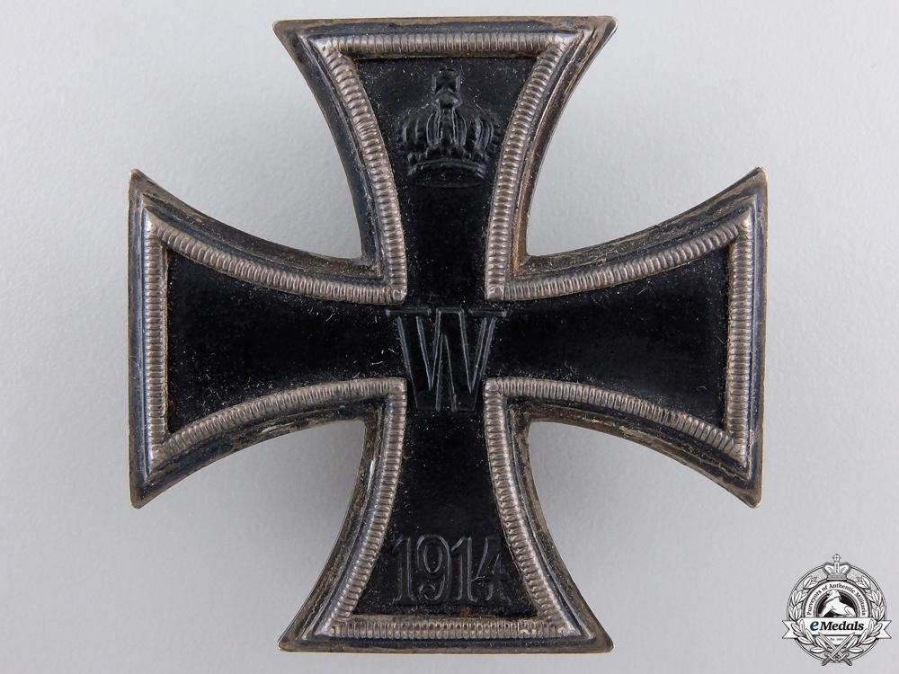 An Iron Cross First Class 1914 by Carl Dilenius