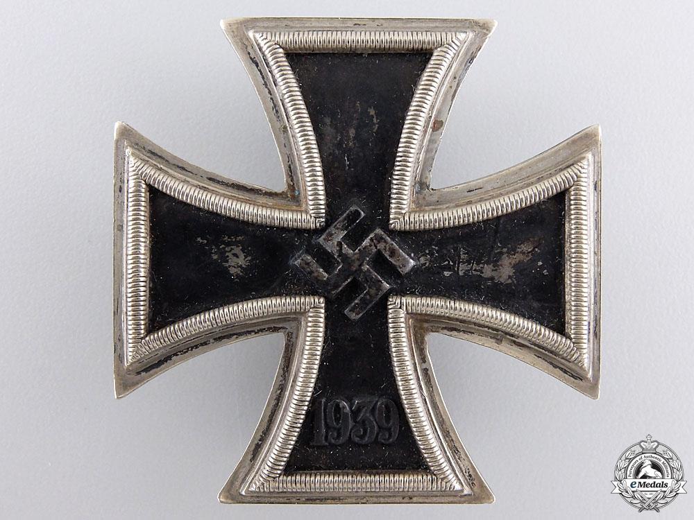 An Iron Cross First Class 1939 by Zimmermann