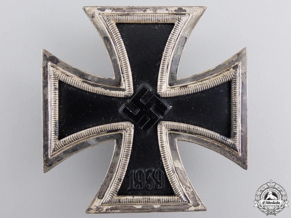 An Iron Cross First Class 1939 by Rudolf Wächtler & Lange