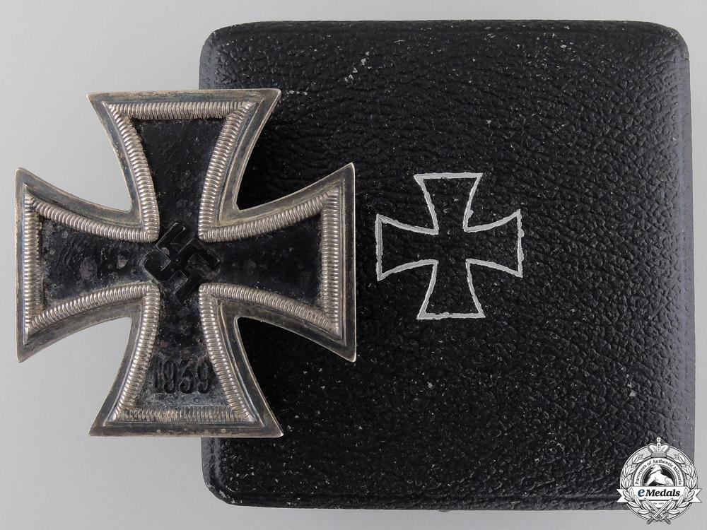 An Iron Cross First Class 1939 by Fritz Zimmermann