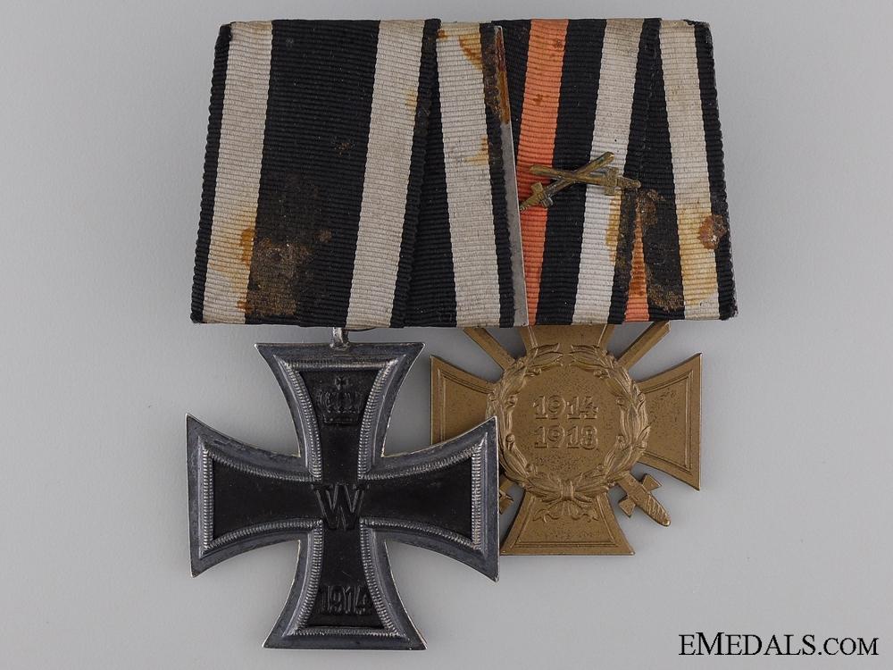 An Iron Cross Second Class 1914 Pair