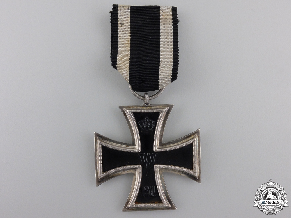 An Iron Cross Second Class 1914 by KO
