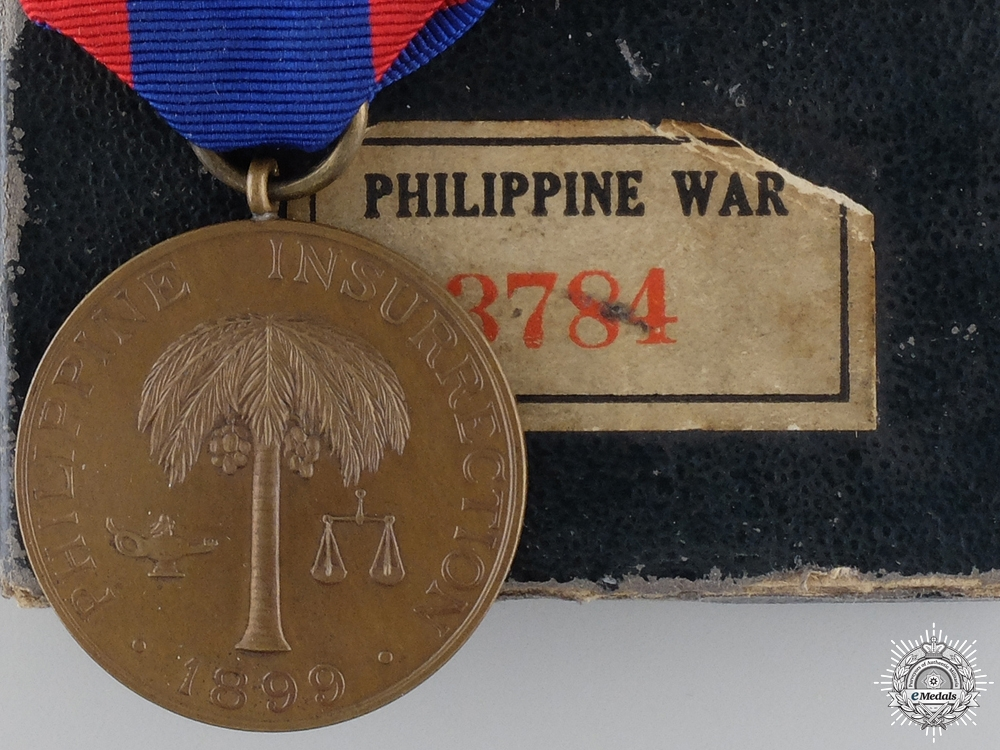 United States. A Philippine Army Campaign Medal with Carton