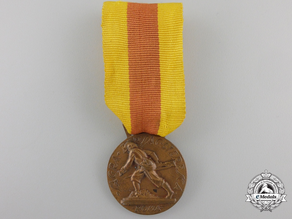 An Italian 1932 Historical Museum Headquarters Medal