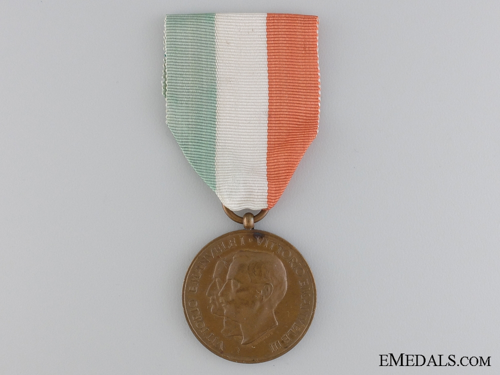 An Italian Carabinieri 100th Anniversary Medal 1814-1914