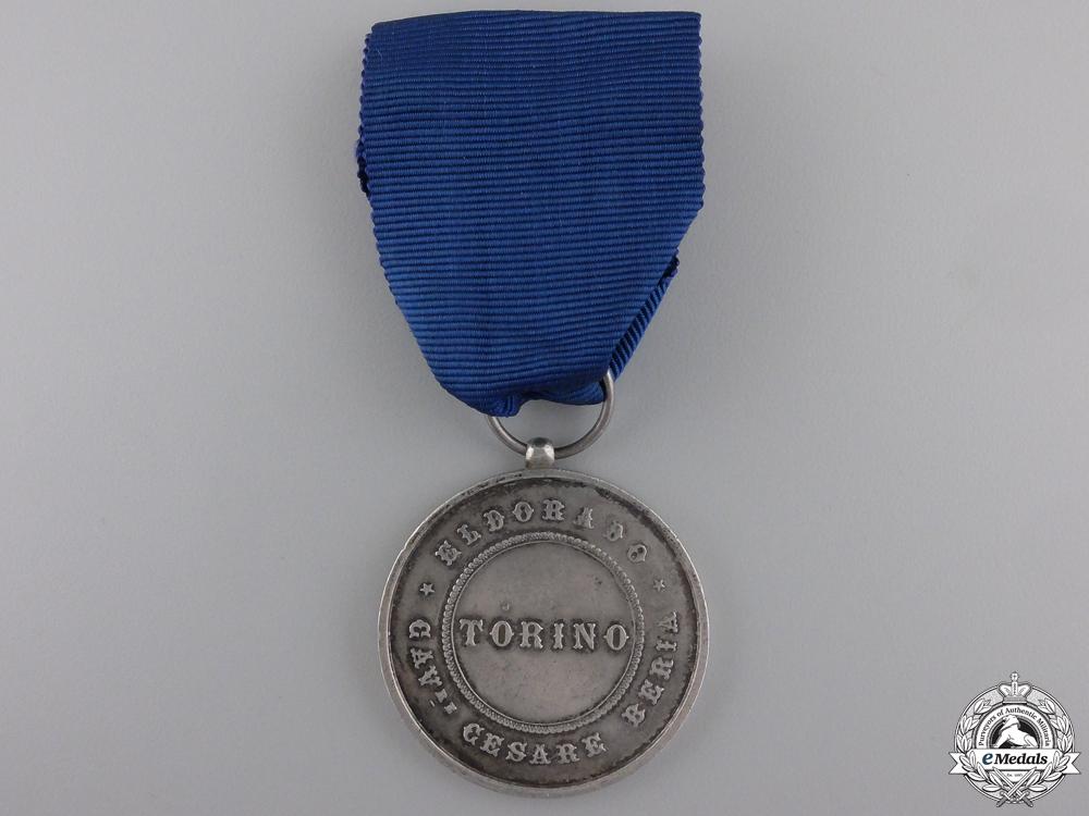 An Italian City of Torino Merit Medal