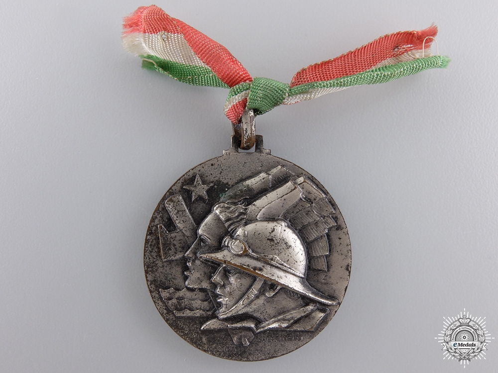 An Italian-Ethiopian Co-Operation Medal