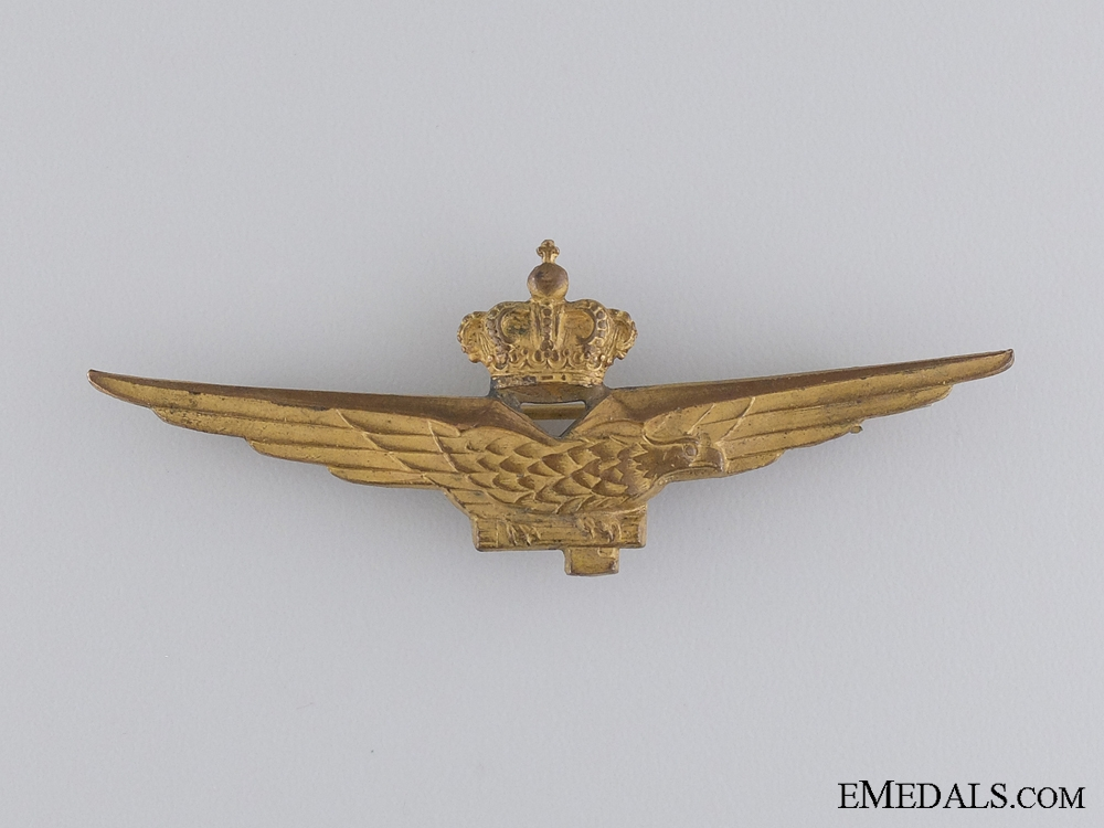 An Italian Fascist Pilot Qualification Badge