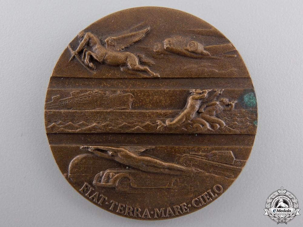 An Italian Fascist Fiat Twenty-Five Years' Long Service Medal