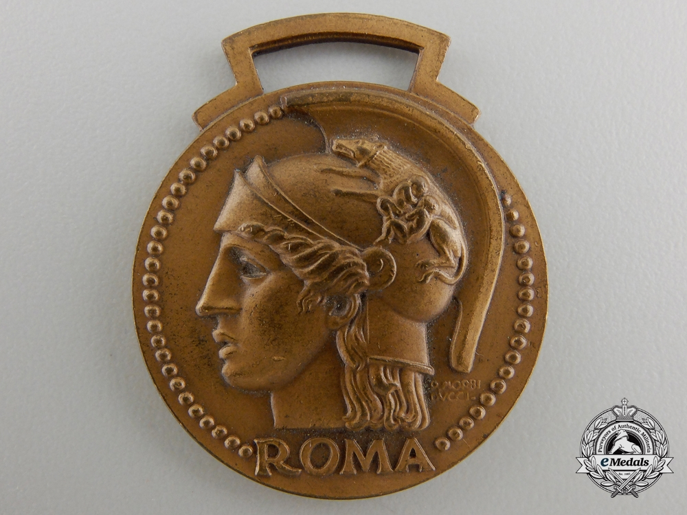 An Italian Fascist Era Eleventh Year Governorate School Merit Medal