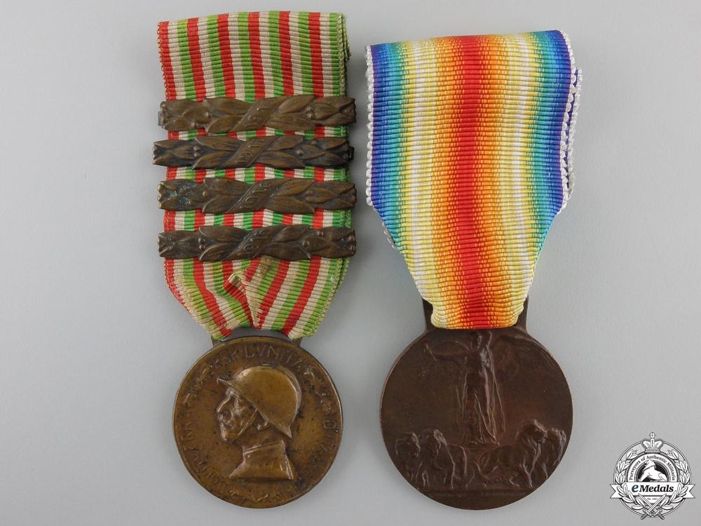 An Italian First World War Pair