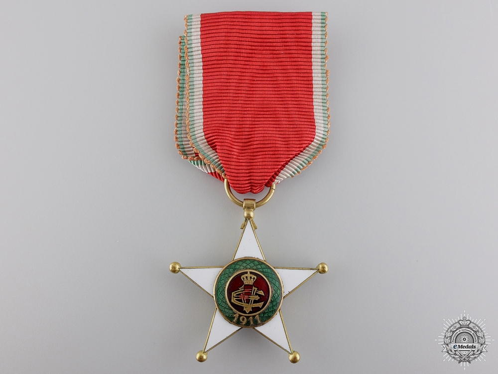 An Italian Order of Colonial Merit; Knight