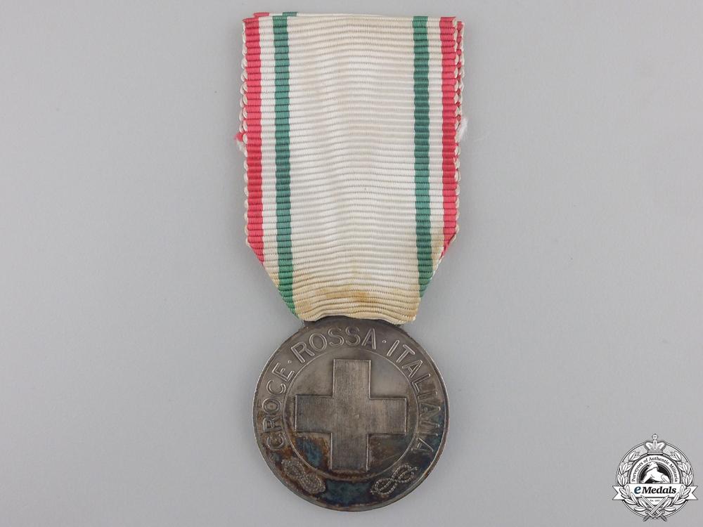 An Italian Red Cross Merit Medal