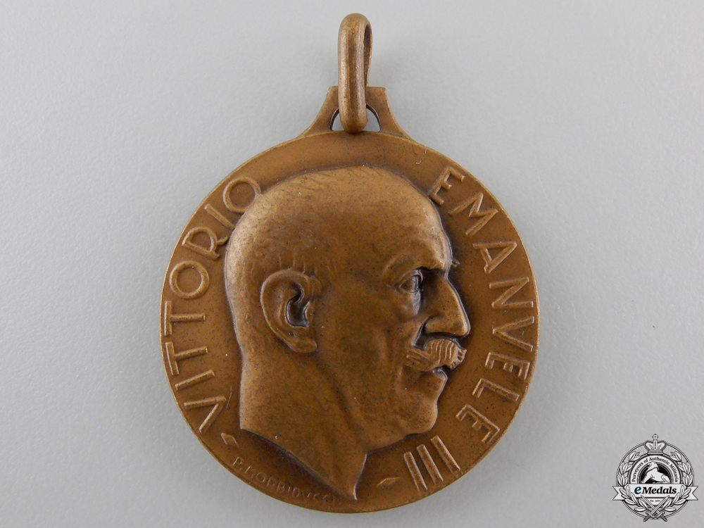 An Italian Royal Army Shooting Competitions Medal