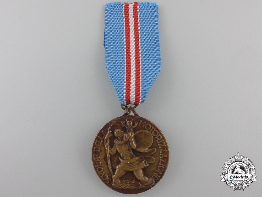 An Italian School of Motorization Medal
