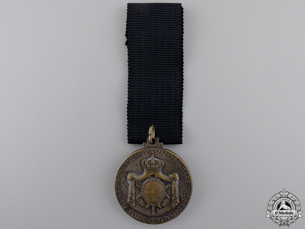 An Italian Sovereign Order of Malta Merit Medal