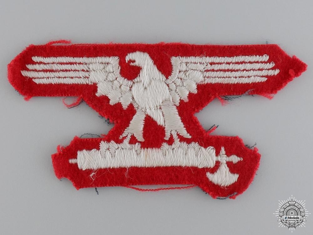 An Italian SS EM/NCO's Sleeve Eagle