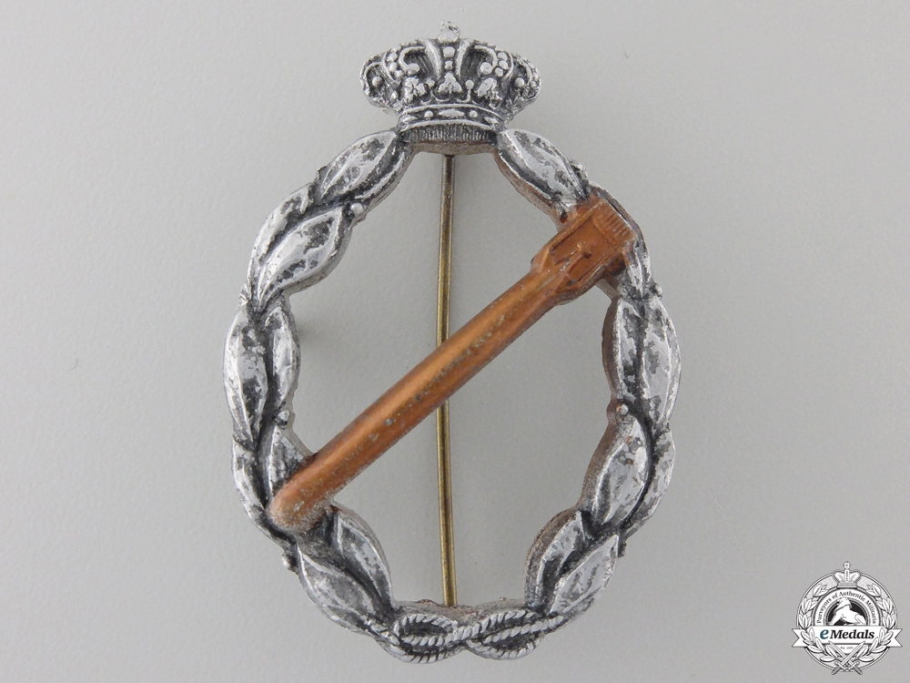 An Italian Torpedo Badge