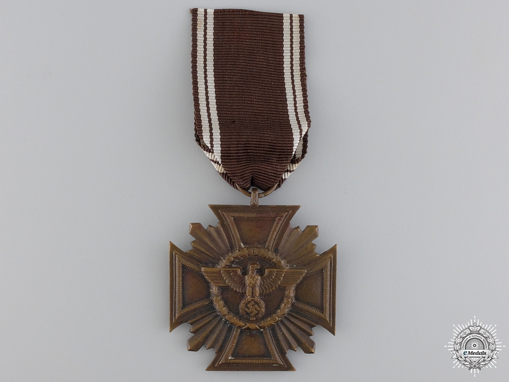 An NSDAP Long Service Award; 10 Year Service Cross