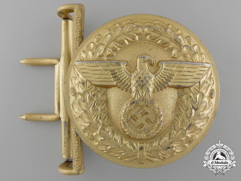 An NSDAP Political Leader's Belt Buckle by Friedrich Linden